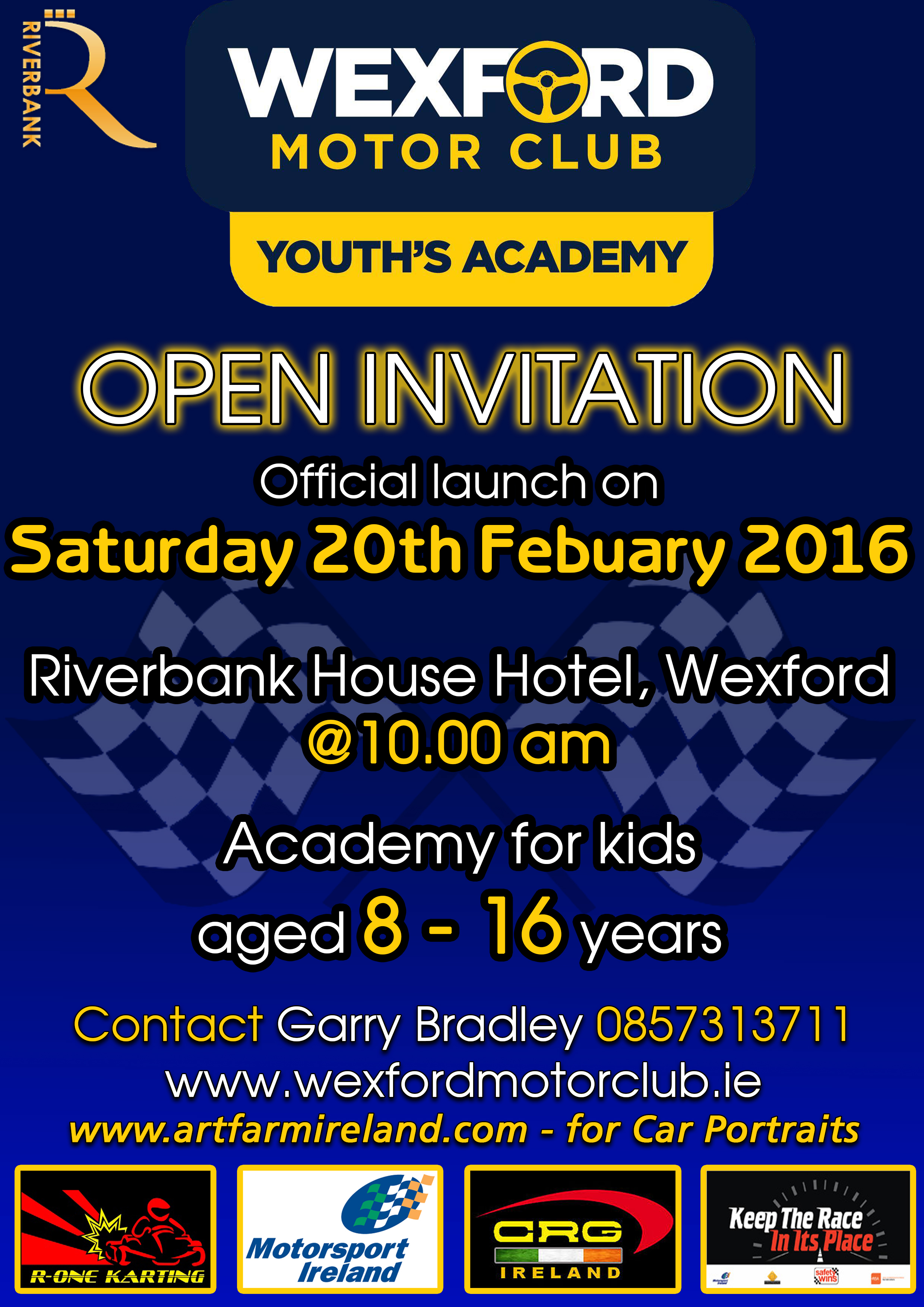 Youth Academy Launch Poster