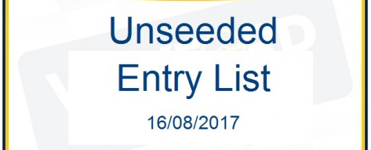 2017 Unseeded List Wexford Volkswagen Stages Rally